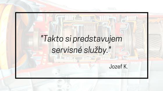 jozef recenzia na autoservis automatickych prevodoviek