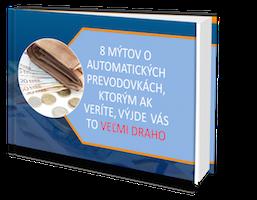 ebook 8 mýtov o automatických prevodovkác