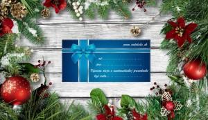 vianočný poukaz na výmenu prevodového oleja