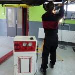 BMW 320 – preplach automatickej prevodovky pri výmene oleja