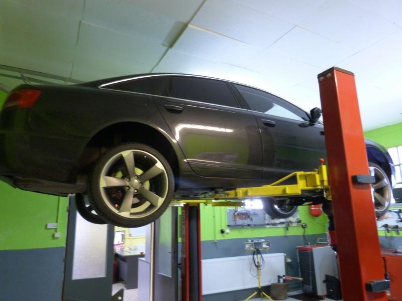 Audi A6 Quatro 2004 výmena oleja v automatickej prevodovke