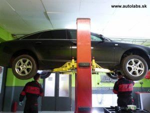 audi a6 - výmena oleja v automatickej prevodovke