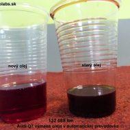 audi q7 2007 porovnanie stareho a noveho prevodoveho oleja