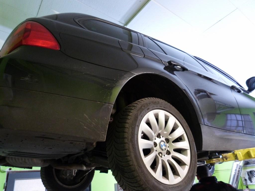 BMW 320d 2009 výmena oleja a filtra v automatickej prevodovke