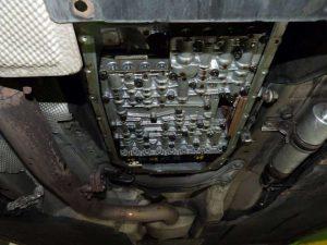 bmw 320d - hydrorozvádzač po zložení olejovej vane