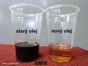 bmw 320d - porovnanie prevodových olejov