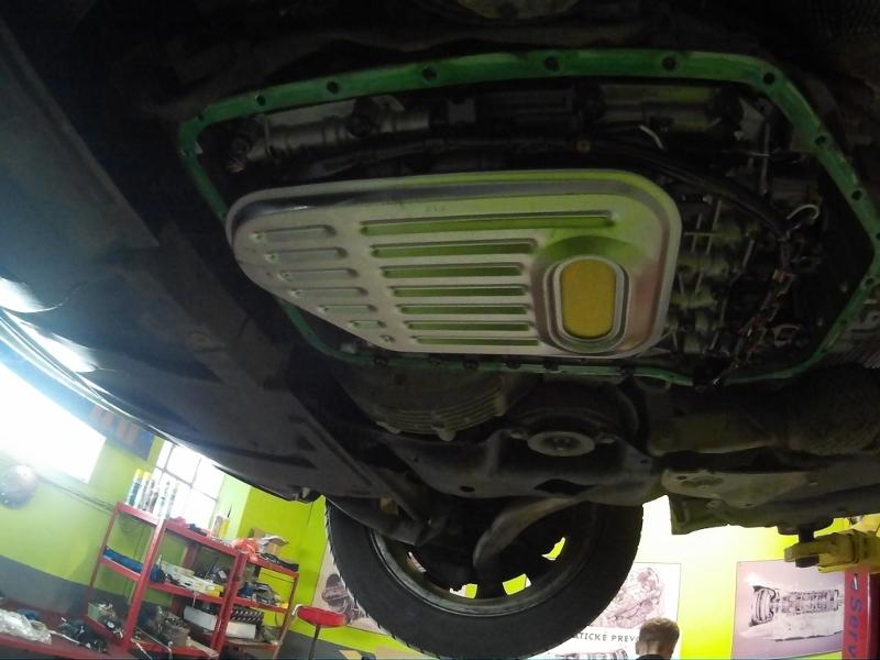 BMW nový filter na automatickú prevodovku
