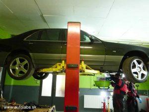 mercedes - výmena oleja v automatickej prevodovke