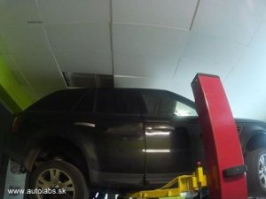 range rover výmena oleja v automatickej prevodovke