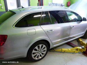 škoda superb - výmena oleja v automatickej prevodovke