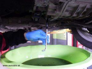 škoda superb - vypúšťanie oleja z automatickej prevodovky