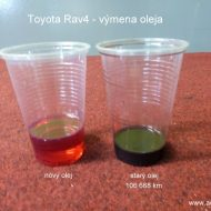 toyota rav4 2004 porovnanie stareho a noveho prevodoveho oleja