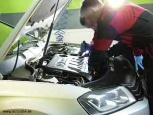 Volkswagen Passat 2012 výmena oleja v DSG prevodovke