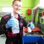 škoda superb výmena oleja a filtra v automatickej prevodovke