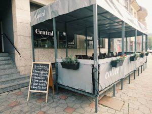 kaviareň Central